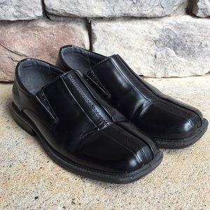Black boys dress shoes Deer Stag